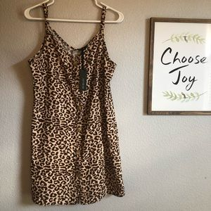 NWT cheetah dress